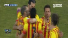 Getafe 2-5 Barcelona (Maç Özeti)
