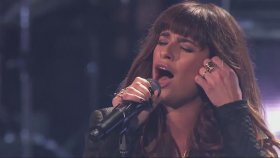 Lea Michele - Cannonball - The X Factor Usa Canlı Performans