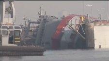 Askeri Tersanede Gemi Yan Yattı: 3 Ölü