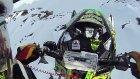 Kar Motoruyla 30 Metreden Aşağı Düştü