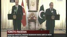 Başbakan Erdoğan Pakistan'da konuştu