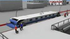 Hiç durmadan yolcu indirip bindirebilen hızlı tren