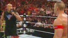 John Cena And Rock vs Nexus