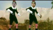 Ronaldo ve Messi'den Muhteşem Yılbaşı Dansı