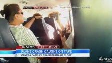 Uçak Düşerken Düşüş Anını Kameraya Alan Yolcu