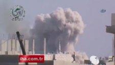 Humus'a Hava Saldırısı: 15 Ölü