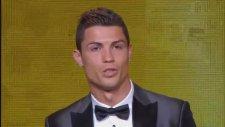 Altın Top Ödülü'nün Sahibi Cristiano Ronaldo Oldu