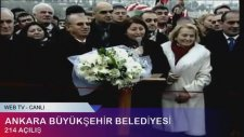 Ankara Büyükşehir Belediyesi 214 Açılış Canlı Yayın (Tekrar)