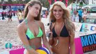 Nina Agdal Video İnterview By Tyler Suess At Model Beach Volleyball 2013