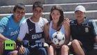 Arjantinli Modelin Futbol Yeteneği