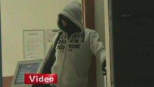 Kahramanmaraş'taki Banka Soygunu Polis Kamerasında