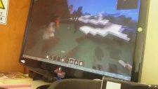 Mob Arena Minecraft Golem Vs Wither Skelton
