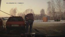 Rus Adamın Benzin Pompasıyla İmtihanı