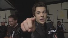 56th Grammy Awards - Austin Mahone Interview