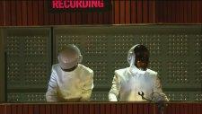 Daft Punk & Pharrell, Stevie Wonder - Get Lucky (2014 Grammy Ödülleri)