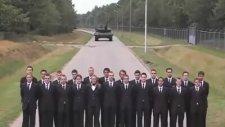 Leopar Tankı Fren Testi