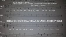 Blok Flüt Metodu 1 - 3.Sınıf Başlangıç Seviyesi Repertuarı ve Nota Yerleri