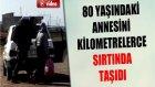 Hasta Annesini Kilometrelerce Sırtında Taşıyarak Türkiye'ye Getirdi