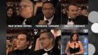 Philip Seymour Hoffman ve Heath Ledger. 2006 Amerikan Akademi Ödül Töreni.