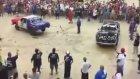 Meksika'da araba kavgası