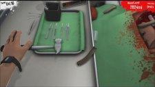 Surgeon Simulator  Bölüm 1 Bajgan Elden Gitti