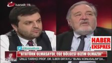 İlber Ortaylı: ''Atatürk Olmasa Olmazdık''