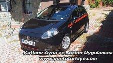 Punto Katlanır Ayna - Body Sticker Uygulaması | Punto Türkiye www.puntoturkiye.com