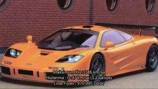 En Hızlı 10 Araba ve Maksimum Hızları