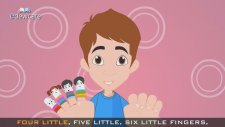 The Finger Family Medley Collection Of Top Six Finger Family Rhymes - Daddy Finger Nursery Rhymes
