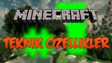 Minecraft Rehberi Bölüm 1 Teknik Özellikler