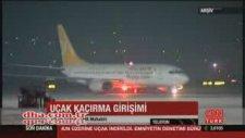 İstanbul Seferini Yapan Uçaktan Kaçırılma Sinyali