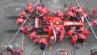 Ferrari Ekibinden İnanılmaz Pit Stop Performansı