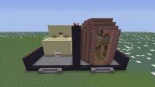 Minecraft: Hızlı Yapı Kapışmaları - Bölüm 5 Cravled Vs Berk - Kütüphane (Türkçe)
