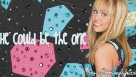 Hannah Montana - He Could Be The One - Lyrics On Screen Hd