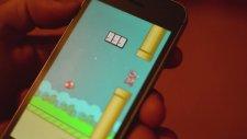 Flappy Bird'de En Yüksek Skor: 999
