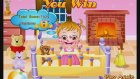 Baby Hazel Skin Care - New Baby Game