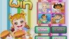 Çocuk Oyunu Hazel Bebek Hamburgercide