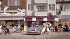Kaskosuz Sürücüye Aduket Şoku