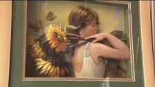 Türk Ressamın Üç Boyutlu Resimlerine Büyük İlgi