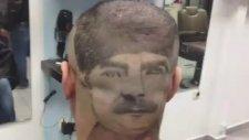 Kafasına Atatürk Portresi Çizdiren Adam