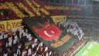 Galatasaray Beşiktaş Maçında Muhteşem Koreografi