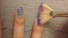 Fırça Darbeli Tırnaklar - Nail Art