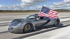 Dünyanın En Hızlı Aracı 435 Km/sa Hıza Ulaştı