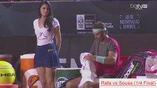 Rafael Nadal'ın Güzel Kızla İmtihanı