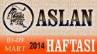 ASLAN Burcu HAFTALIK (03-09 Mart 2014) Astrolog DEMET BALTACI, Bilinç Okulu, Astroloji, Burçlar