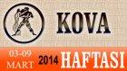 KOVA Burcu HAFTALIK (03-09 Mart 2014) Astrolog DEMET BALTACI, Bilinç Okulu, Astroloji, Burçlar