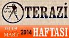 TERAZİ Burcu HAFTALIK (03-09 Mart 2014) Astrolog DEMET BALTACI, Bilinç Okulu, Astroloji, Burçlar