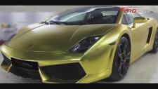 Altın Kaplama Lamborghini