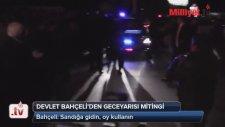 MHP Lideri Bahçeli'den Geceyarısı Mitingi
