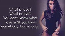 Lea Michele - What Is Love? (Şarkı Sözü-Lyrics)